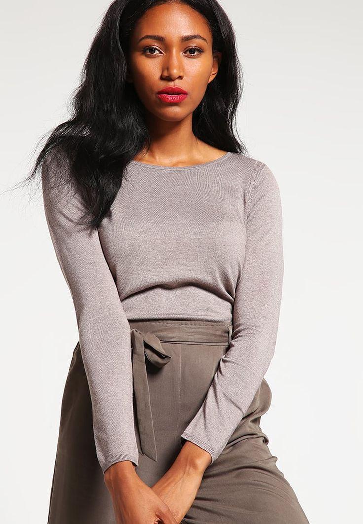 Köp Esprit Collection Stickad tröja - taupe för 499,00 kr (2016-08-12)…