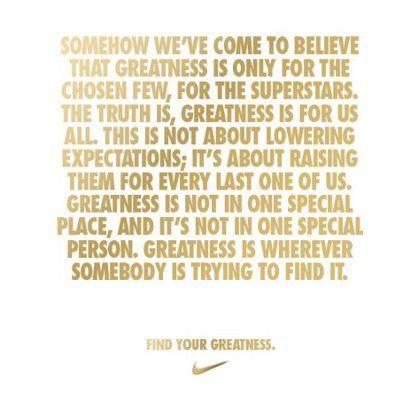 #nike #greatness