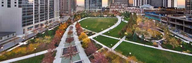 Famous Landscape Architecture Designs chicago's park design at lakeshore eastthe office of james