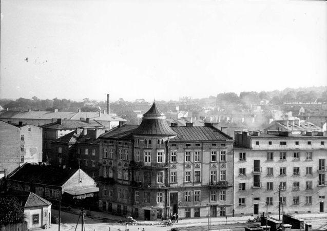 Przemysl, Poland, 1962, A view of the former ghetto. - Yad Vashem Photo Archive