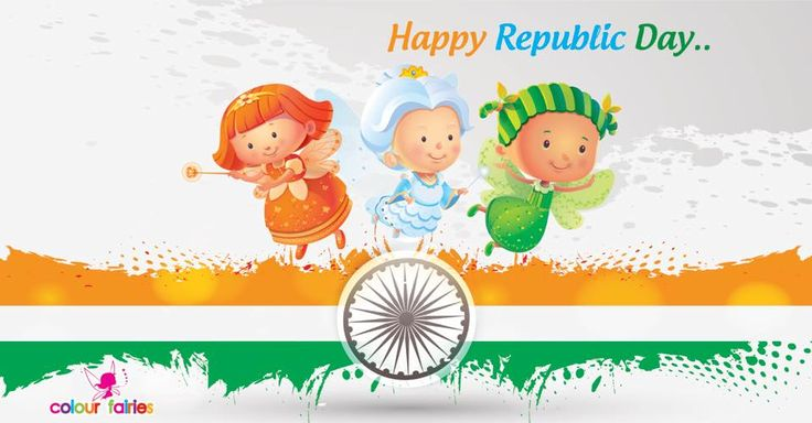 Happy #Republic Day by #ColourFairies