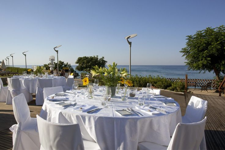 Our beautiful wedding venues at Capo Bay to ensure that all is perfectly catered for! #capobay #wedding #venue #cyprus #protaras #marriage #ideas #figtreebay