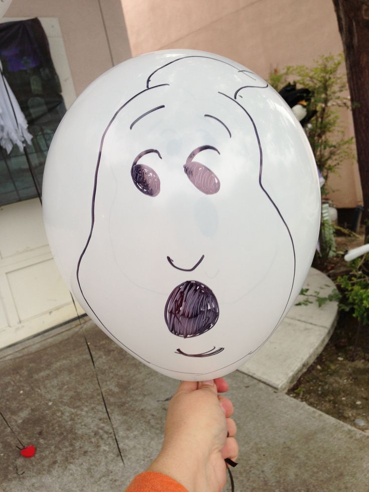 Ghostbusters balloon ghost Halloween decoration