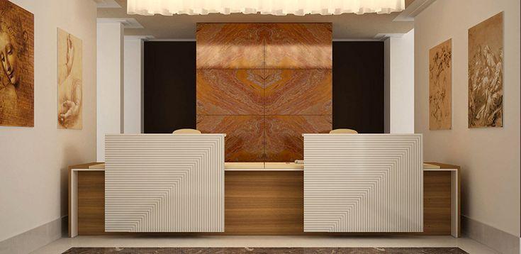 Bancone Reception Loop IN di Estel Office