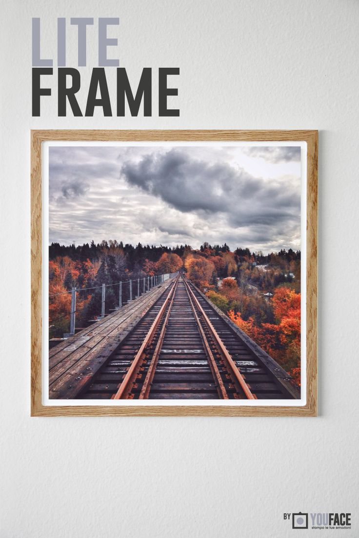 Lite Frame - Wood Slim