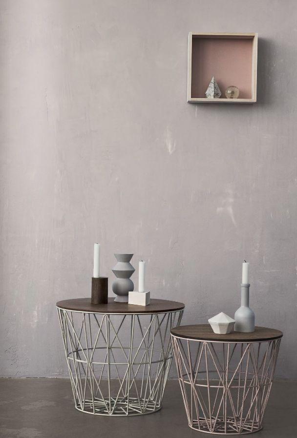 Geometric Decor Ideas - Side Tables - Neutral Tones - Living Room