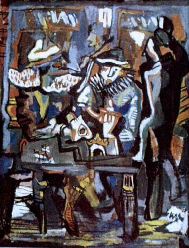 Café Concert - Marcel Janco