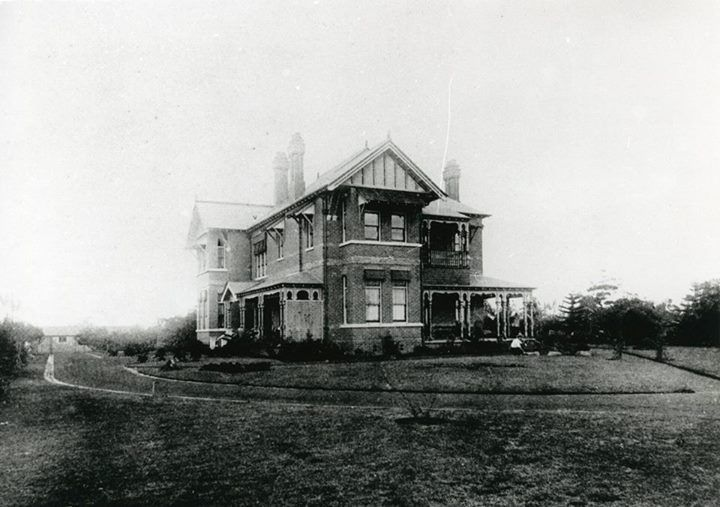 'Pakenham', Hornsby NSW, home of the Channon family. The house was later a private hospital, and was demolished in 1960 to make way for Westfield Plaza.