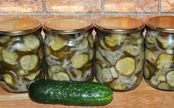 Закуска из огурцов с луком на зиму - пошаговый рецепт с фото на Повар.ру