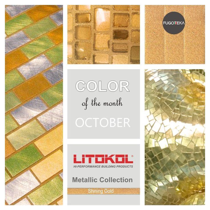 Color Octobre -Litokol Starlike Metalic Shining Gold
