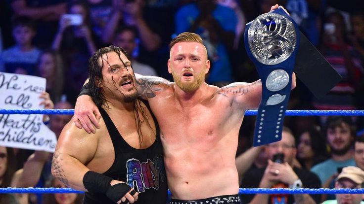 Heath Slater And Rhyno Retain The WWE SmackDown Tag Team Titles At No Mercy
