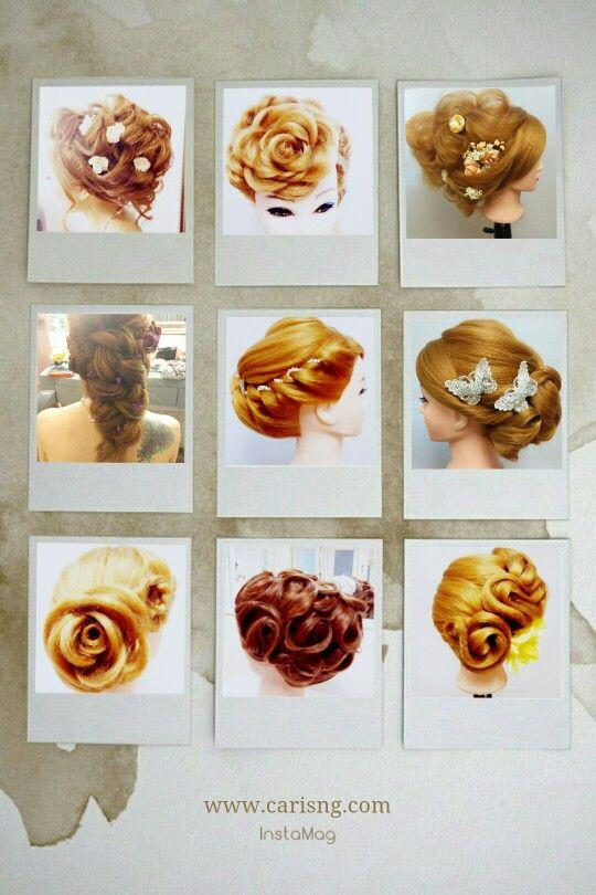 台式新娘髮型設計課程 時間彈性 一對一或小班教學 課程查詢 www.carisng.com Whatsapp 63355409