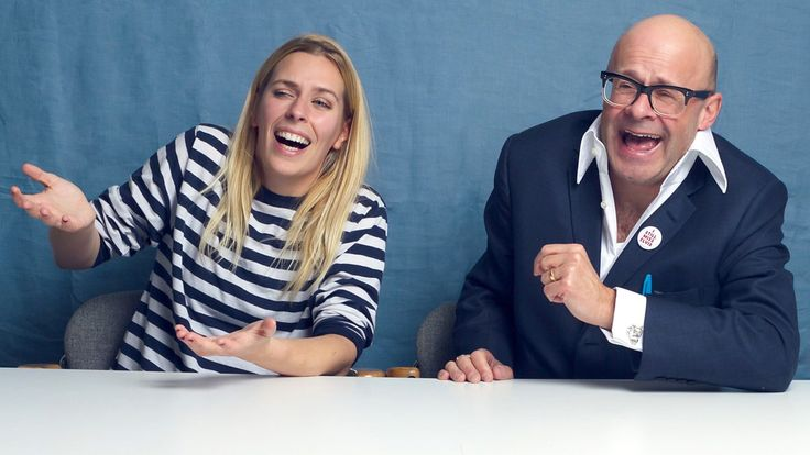 Sara Pascoe puts Harry Hill in the hot seat.