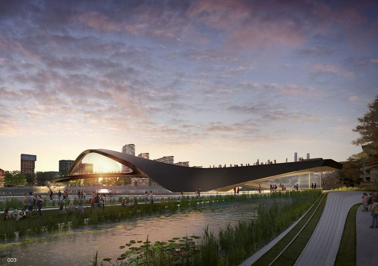 """74 """"Wild Designs"""" Considered for New Thames Pedestrian and Cycle Bridge"""