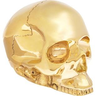 Large Brass Skull