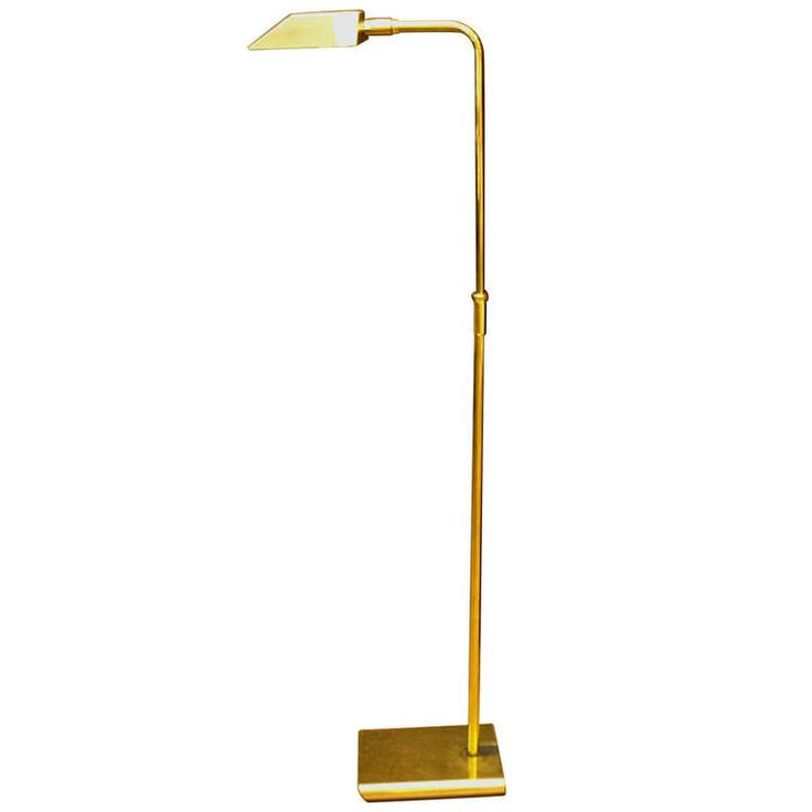 Vintage Koch Amp Lowy Brass Floor Lamp Floor Lamps Modern And Brass