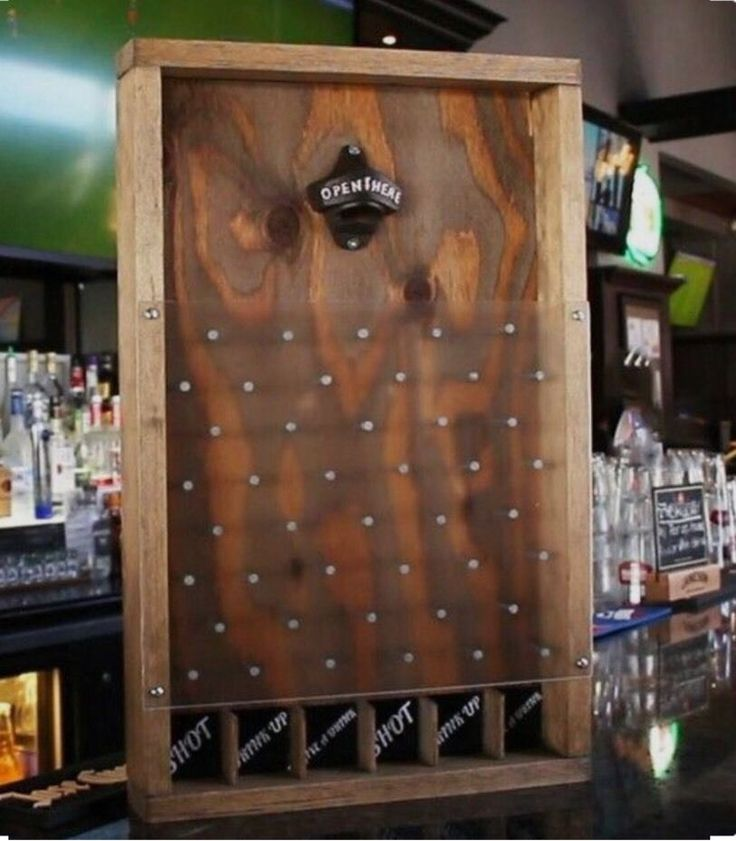 Drinking Plinko-- that's right pop the top off your favorite beer and bam you have to pick the following on the bottom! This item is heavy enough to sit on a bar top or table. If you are wanting to hang this item let me know and I will add a sawtooth backing. | eBay!