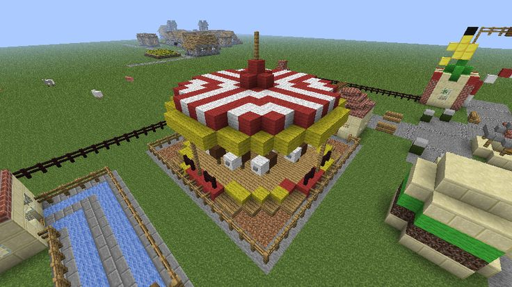 minecraft carousel | Download full resolution