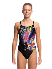 Wing Attack Swimwear Girls Single Strap One Piece