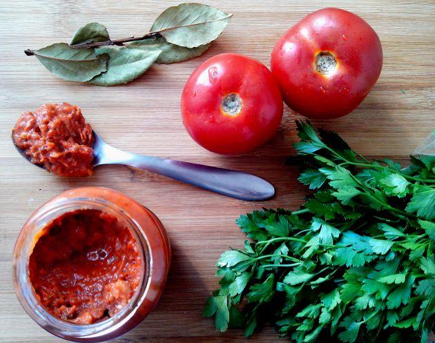 Molho especial de tomates assados
