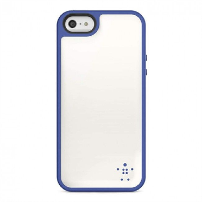 Belkin Grip Max for iPhone 5-White-Blue  $44.99 at zenwer.com