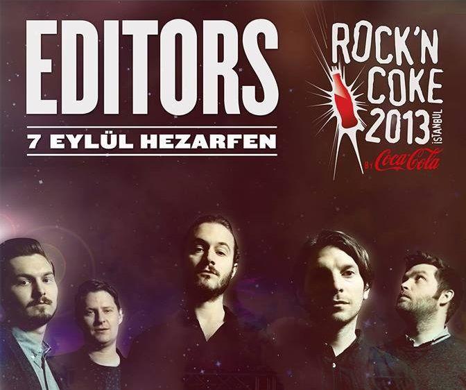 Editors Rock'n Coke'da