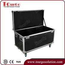 Tourgo Durable Utility Trunk Road Case Hardwares 44 x 27 x 22inch with Caster Board