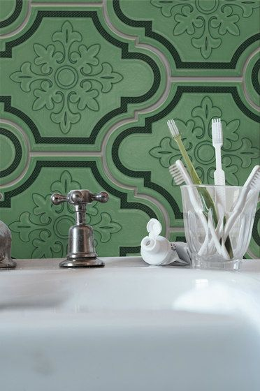 Green Tiles All About Update Green | UP1826G By Ornamenta On Architonic.  Find Pictures U0026