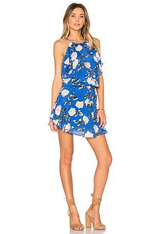 Lulu Print Mini Dress