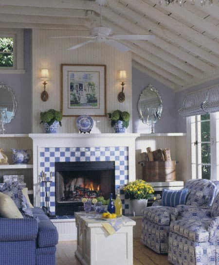 Like The Garden Feel Of This Fireplace Decor Living Room
