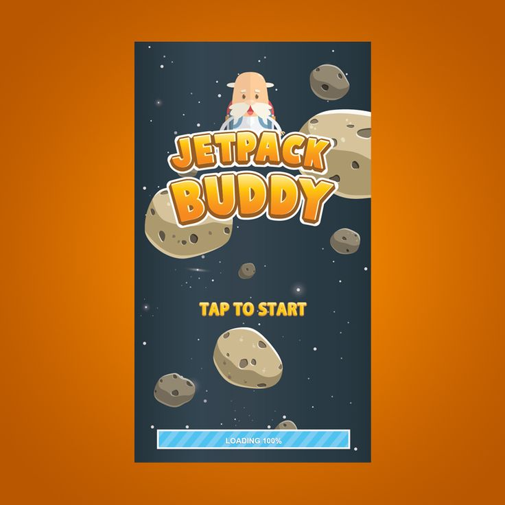 Jetpack Buddy Game Kit on Behance