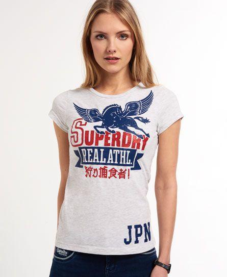"""極度乾燥しなさいのアイテム レディース  Tシャツ ペガサスと全くマッチしない""""狩り捕食者!"""""""