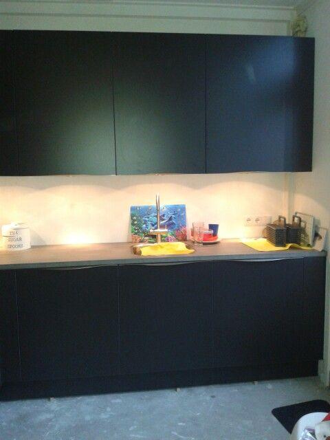 De keuken so far andere muur