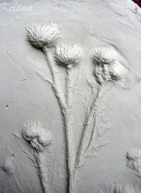 Мастер-класс по отливке растений из гипса с помощью пластилина. Обсуждение на LiveInternet - Российский Сервис Онлайн-Дневников