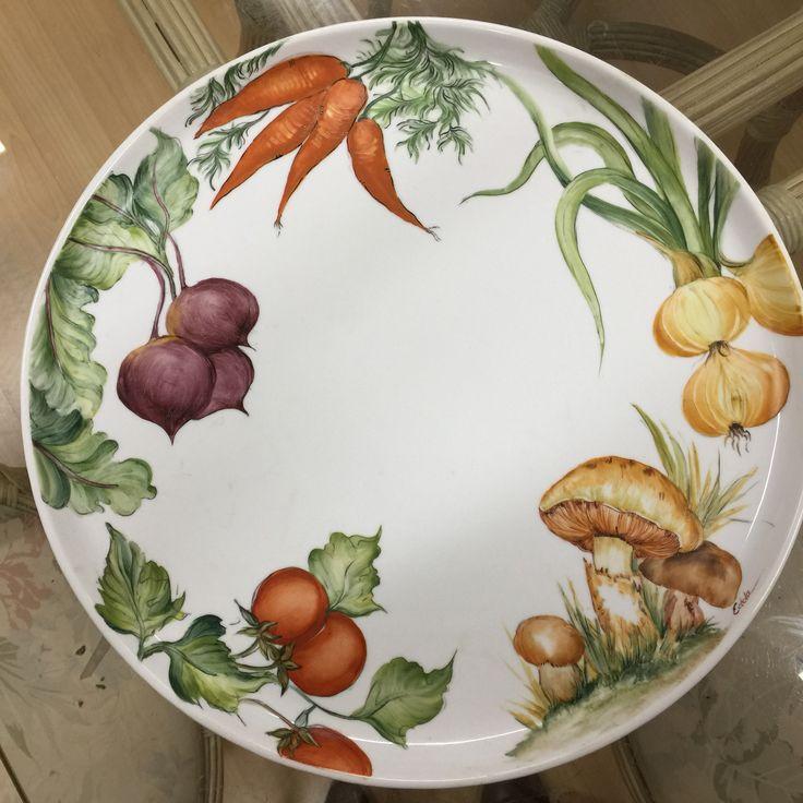 Idées pour peindre des légumes