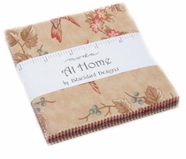 PREORDER At Home Moda Charm Pack by Blackbird Designs  #quilting #spreadthelove #ruler #newstuff