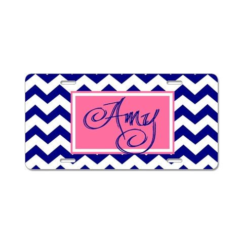 Personalized Car Tag, Monogrammed Car Tag, Design Your OWN Car Tag via Etsy