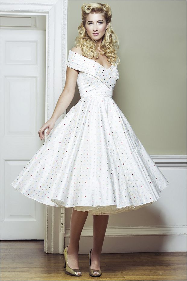 Wedding dresses 2014 50s style for 50s inspired wedding dress