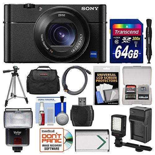 Sony Cyber-Shot DSC-RX100 V 4K Wi-Fi Digital Camera with 64GB Card + Case + Flash + Video Light + Battery & Charger + Tripod + Kit review - http://www.bestseller.ws/blog/camera-and-photo/sony-cyber-shot-dsc-rx100-v-4k-wi-fi-digital-camera-with-64gb-card-case-flash-video-light-battery-charger-tripod-kit-review/