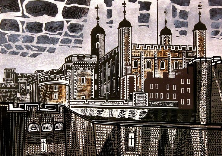The Tower of London Edward Bawden 1967