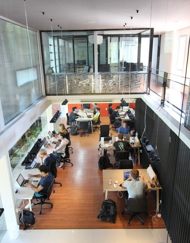 254 best coworking spaces images on pinterest work Shared office space design