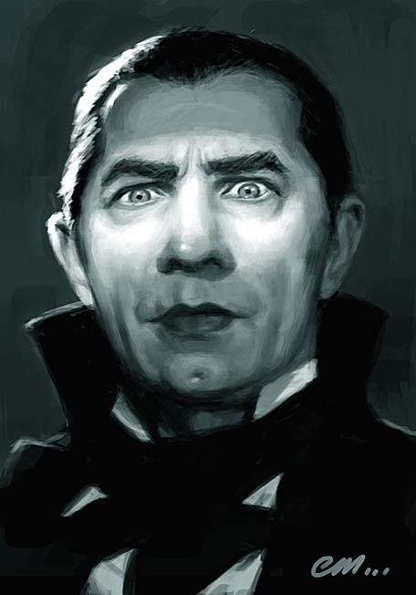 Dracula as portrayed by Bela Lugosi - One of the first monsters to scare me to death!