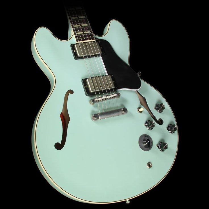 Gibson Memphis 1964 ES-345 VOS Electric Guitar Sea Foam Green