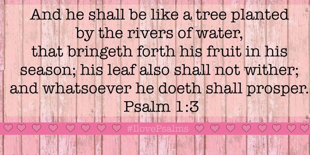 I Love Psalms: Psalms Chapter 1 - Encouraging Word