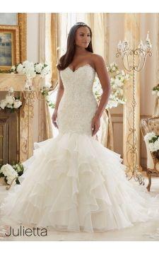 Cute Julietta Julietta MoriLee weddingdress wedding plussizeweddingdress