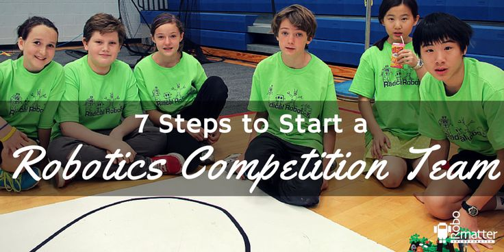 Want to Start a Robotics Competition Team but Don't Know Where to Start?