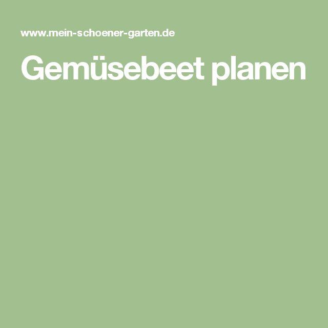 Gemüsebeet planen