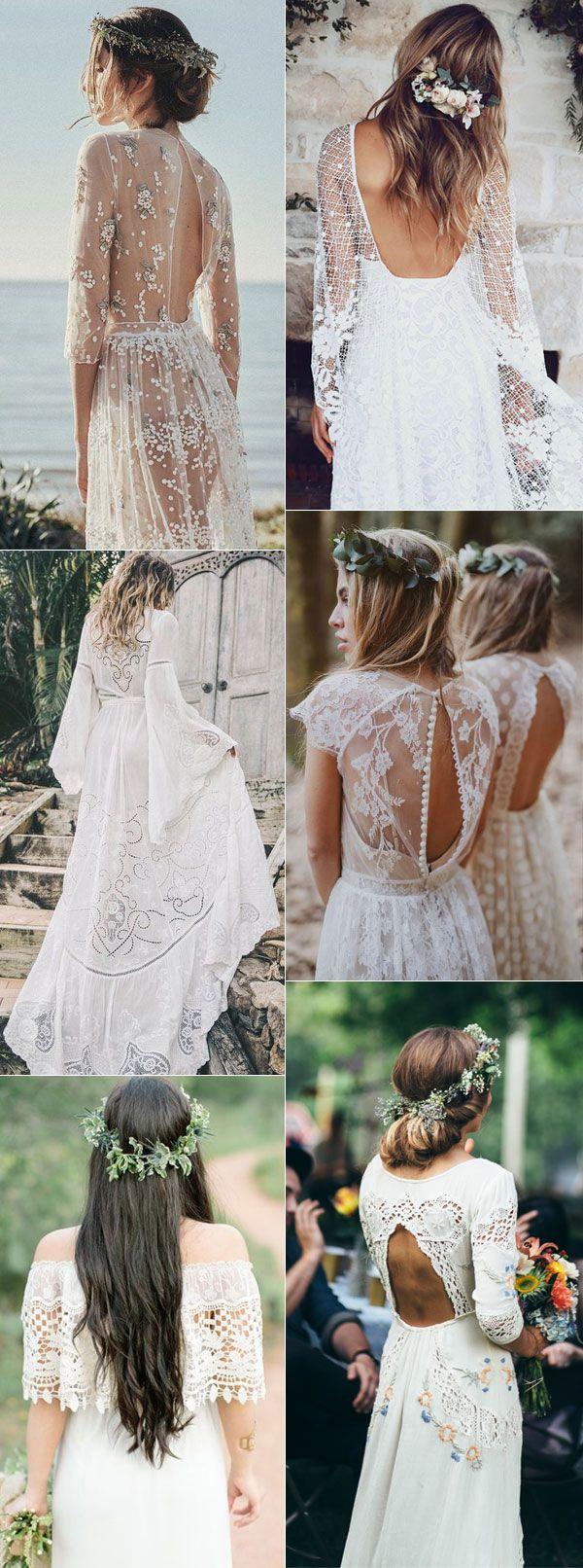 Romantic Boho Bridal Dress Inspiration