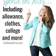How much to spend on kids! | Allowance, clothes, college, etc | Q&..