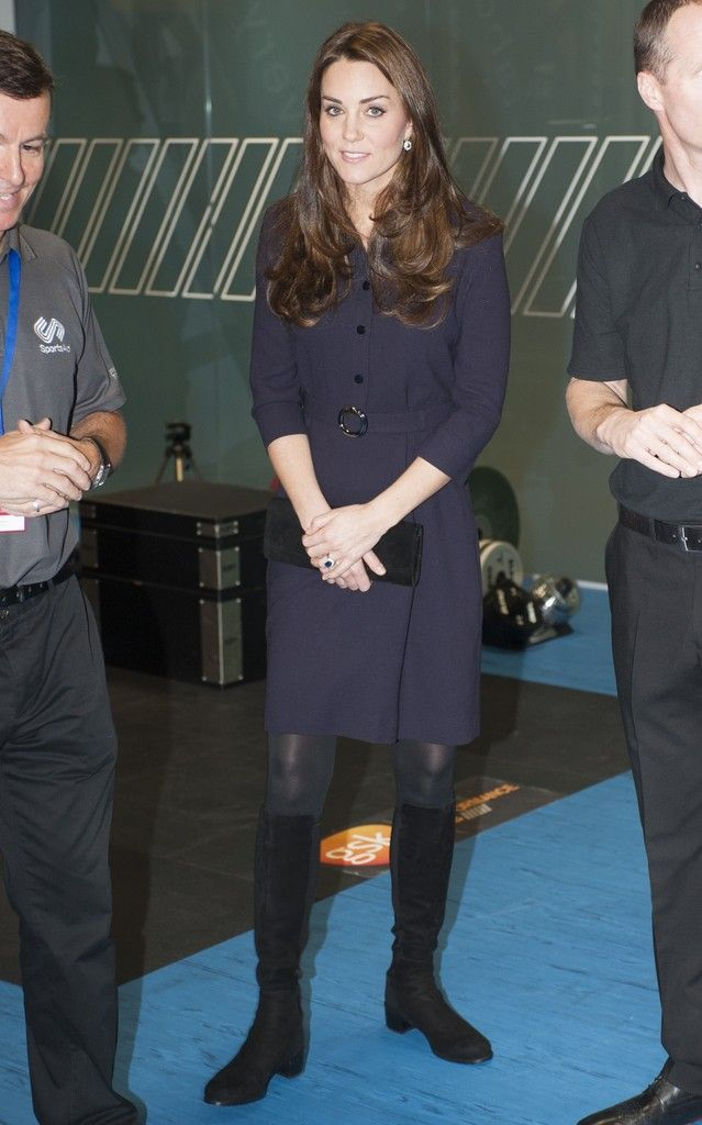 Catherine, Duchess of Cambridge visited the GlaxoSmithKline (GSK) Human Performance Laboratory, in Brentford. The Human Performance Laboratory offers athletes a series of evaluations to help create custom workouts. 13 November 2014.